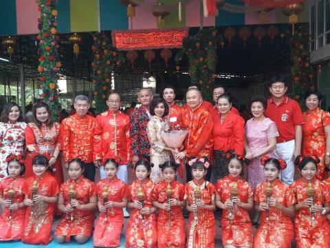 สีสันสดใส..วันตรุษจีน โรงเรียนเตรียมนานาชาติภู่ขจร จัดกิจกรรมให้นักเรียนเรียนรู้วัฒนธรรมประเพณีของจีน พร้อมเพิ่มทักษะในการใช้ภาษาจีน