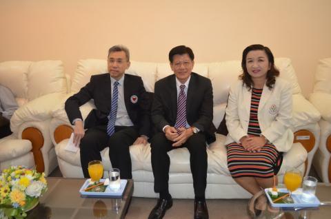 การประชุมวิชาการหัวใจสัญจร ครั้งที่ 17 สมาคมแพทย์โรคหัวใจแห่งประเทศไทยฯ  ร่วมกับ โรงพยาบาลกำแพงเพชร จ.กำแพงเพชร