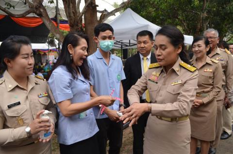 รัฐมนตรีช่วยว่าการกระทรวงศึกษาธิการ ลงพื้นที่จังหวัดกำแพงเพชร เพื่อตรวจราชการ และให้กำลังใจแก่คณะครู