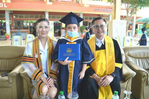 โรงเรียนเจริญสุขอุดมวิทยา จัดพิธีมอบวุฒิบัตรแก่บัณฑิตน้อย และนักเรียนที่จบการศึกษา ประจำปีการศึกษา 2563