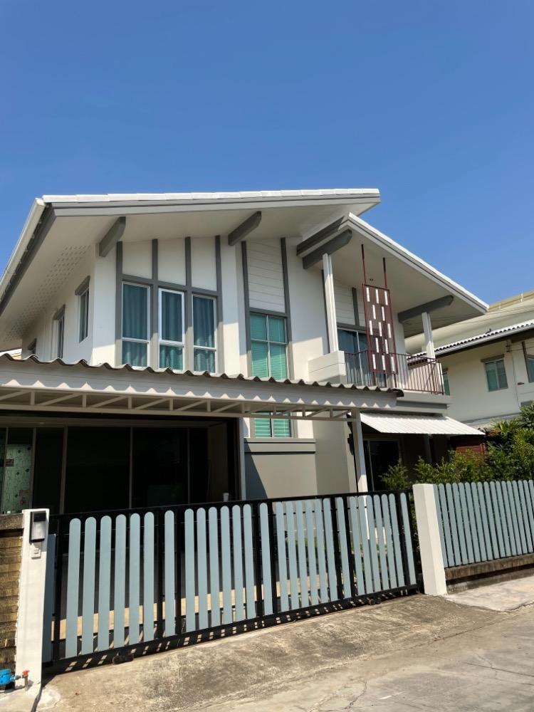 ให้เช่าบ้านเดี่ยว2 ชั้น เนื้อที่ 50 ตารางวา 3 ห้องนอน 3 ห้องน้ำ พฤกษาปูริ ชานบัว บางนา-ตราด กม.5